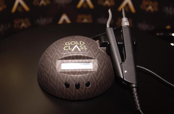 Gold Class application machine