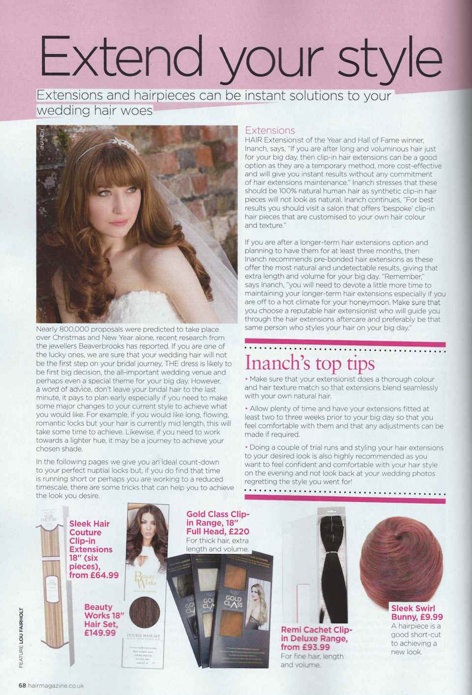 Hair March 16 article