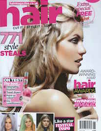 Hair Mag cover June