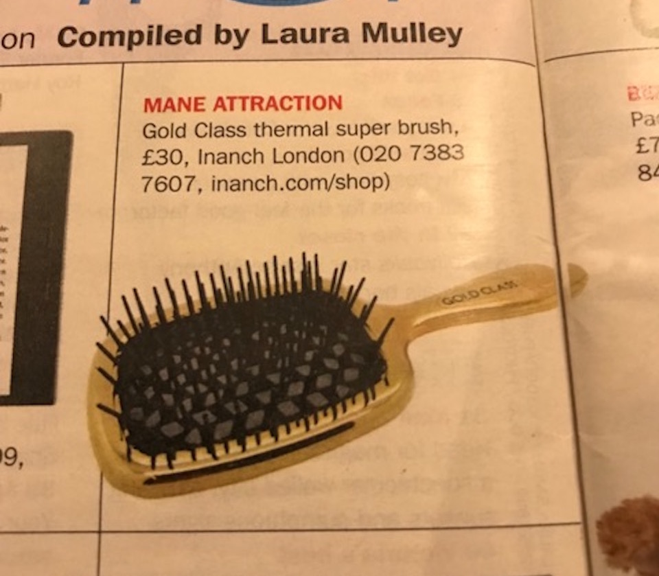Sunday Express Magazine, thermal super brush