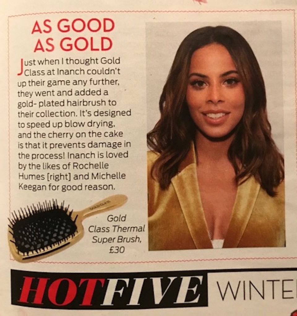 OK! Magazine, As Good As Gold, Gold Class thermal super brush