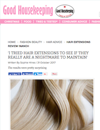 Good Housekeeping Tries Hair Extensions