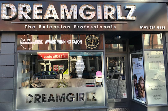 Dreamgirlz salon Newcastle